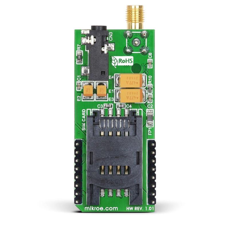 Gsm Click  Gprs Quad Module