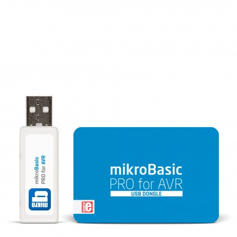 mikroBasic PRO for AVR (USB Dongle)