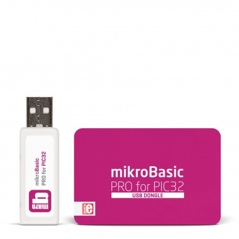 mikroBasic PRO for PIC32 (USB Dongle)