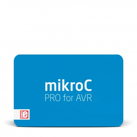 mikroC PRO for AVR