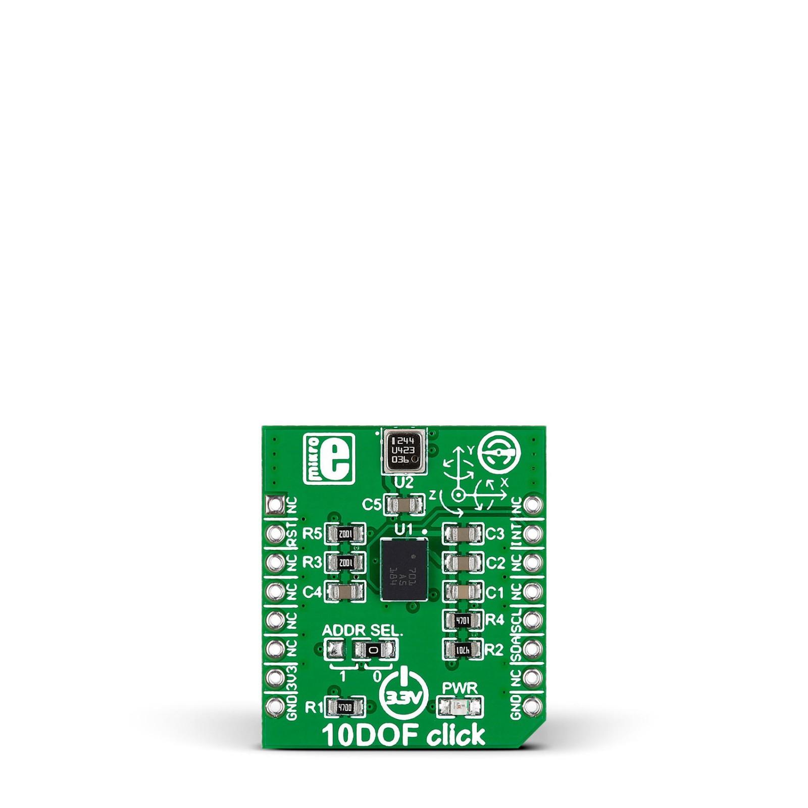 10DOF Click | MikroElektronika
