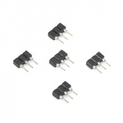 1x3 Female Header Socket Machine Pin (5pcs)
