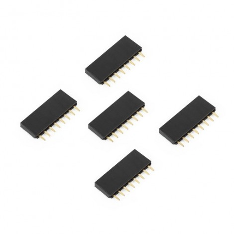 1x8 Female Header Socket (5pcs)