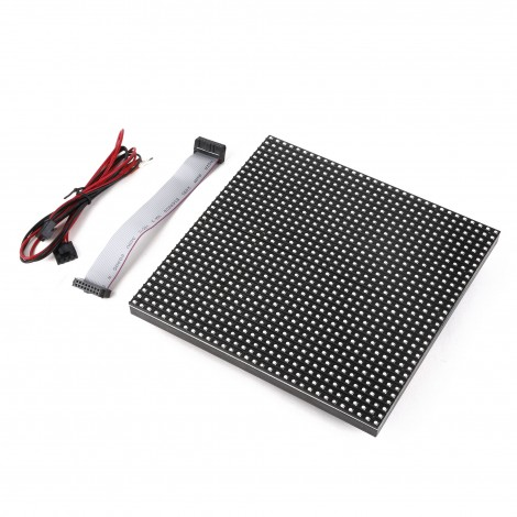 MikroE 32x32 RGB LED Matrix Panel - 6mm pitch