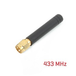 Rubber Antenna 433Mhz straight