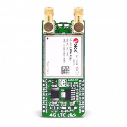 MikroE Click BoardsWireless Connectivity 4G LTE-AT&T click (for North America) front