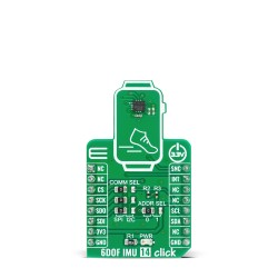 Shop Click Boards Sensors Motion 6DOF IMU 14 Click Front