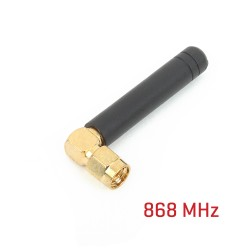 Rubber Antenna 868Mhz right angle