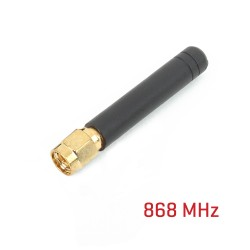 Rubber Antenna 868Mhz straight
