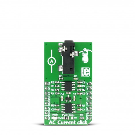 MikroElektronika Click Boards Mixed-Signal AC Current click front