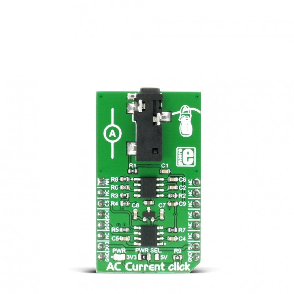 Ac Current Click Board With Mcp3201 Adc Converter From Microchip Electronic Circuit Schematics Consisting Of Digital And Analog Devices