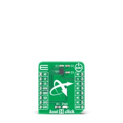 Shop Click Boards Sensors Motion Accel 14 Click Front