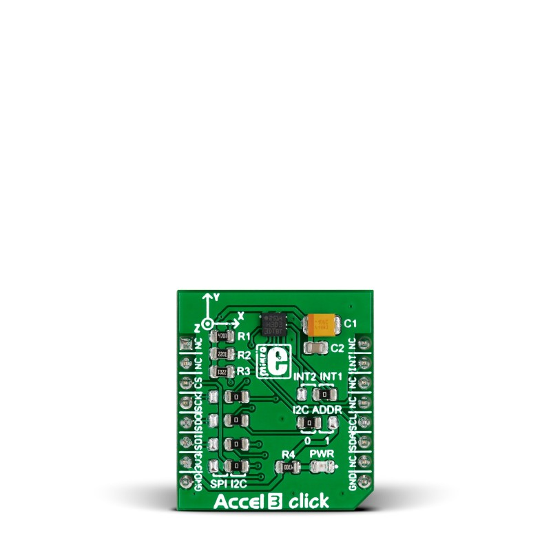 Accel 3 click – with H3LIS331DL high-g 3-axis digital accelerometer