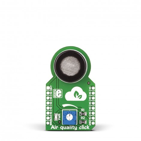 MikroE Click Boards Sensors Air quality click front