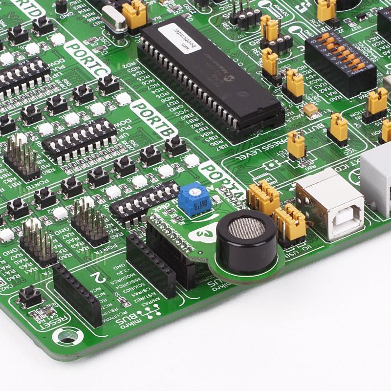 Air Quality Click | MQ-135 Sensor - MikroElektronika