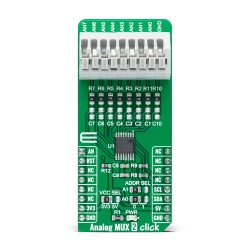 Shop Click Boards Mixed Signal Measurements Analog MUX 2 Click Front