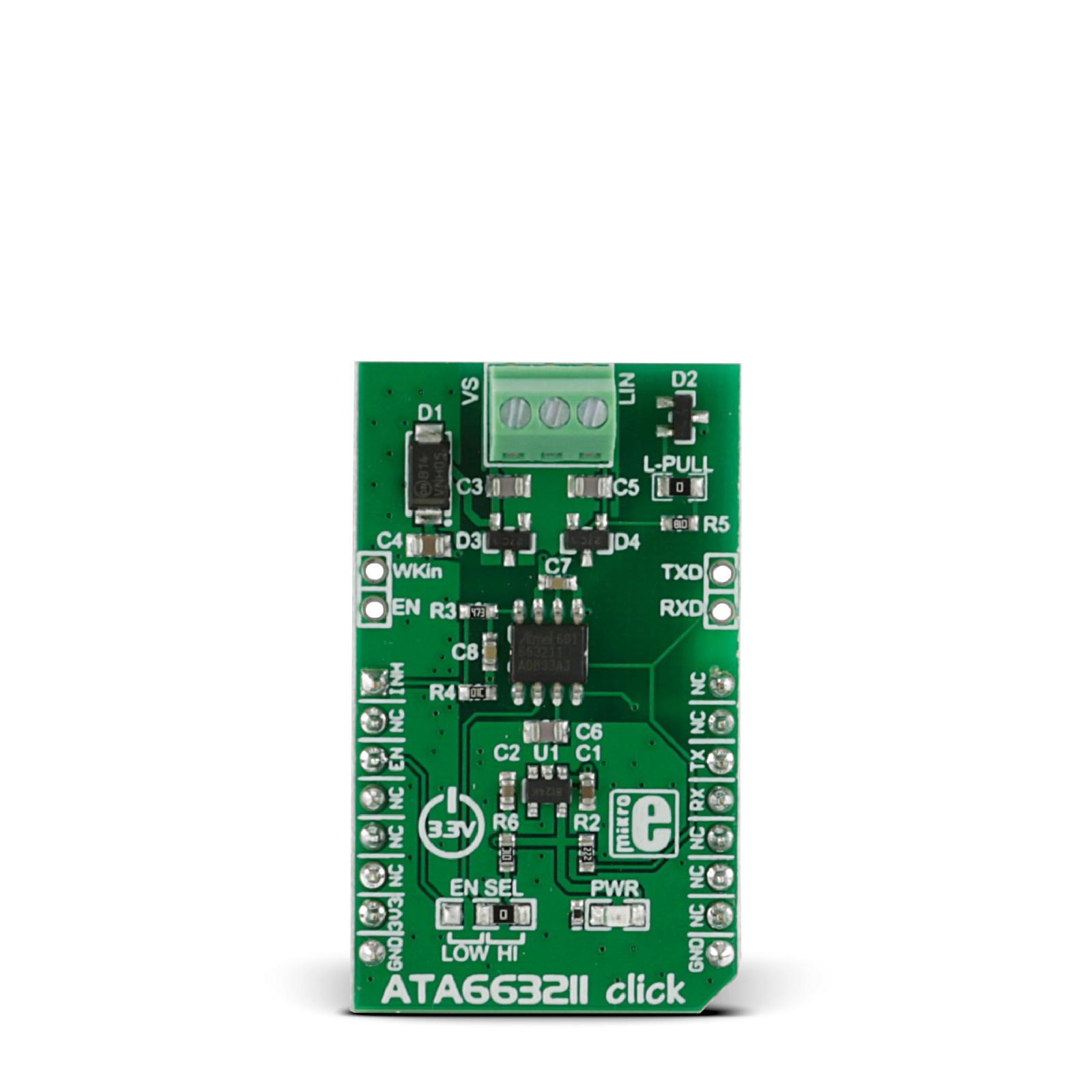ATA663211 click — board with Atmel LIN transceiver | MikroElektronika