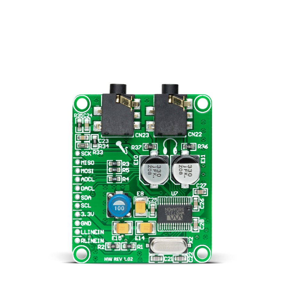 Audio Codec Proto Development Board With Wm8731 N5ese Teensey Noise Generator Schematic