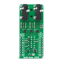 Shop Click Boards Audio & Voice Signal Processing Audio Xover Click Front