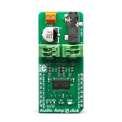 Mikroe Click Boards Audio and Voice Audio Amp 5 front