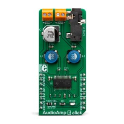Mikroe Click Boards Audio and Voice AudioAmp 6 front
