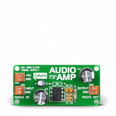 Mikroe AudioAMP Board
