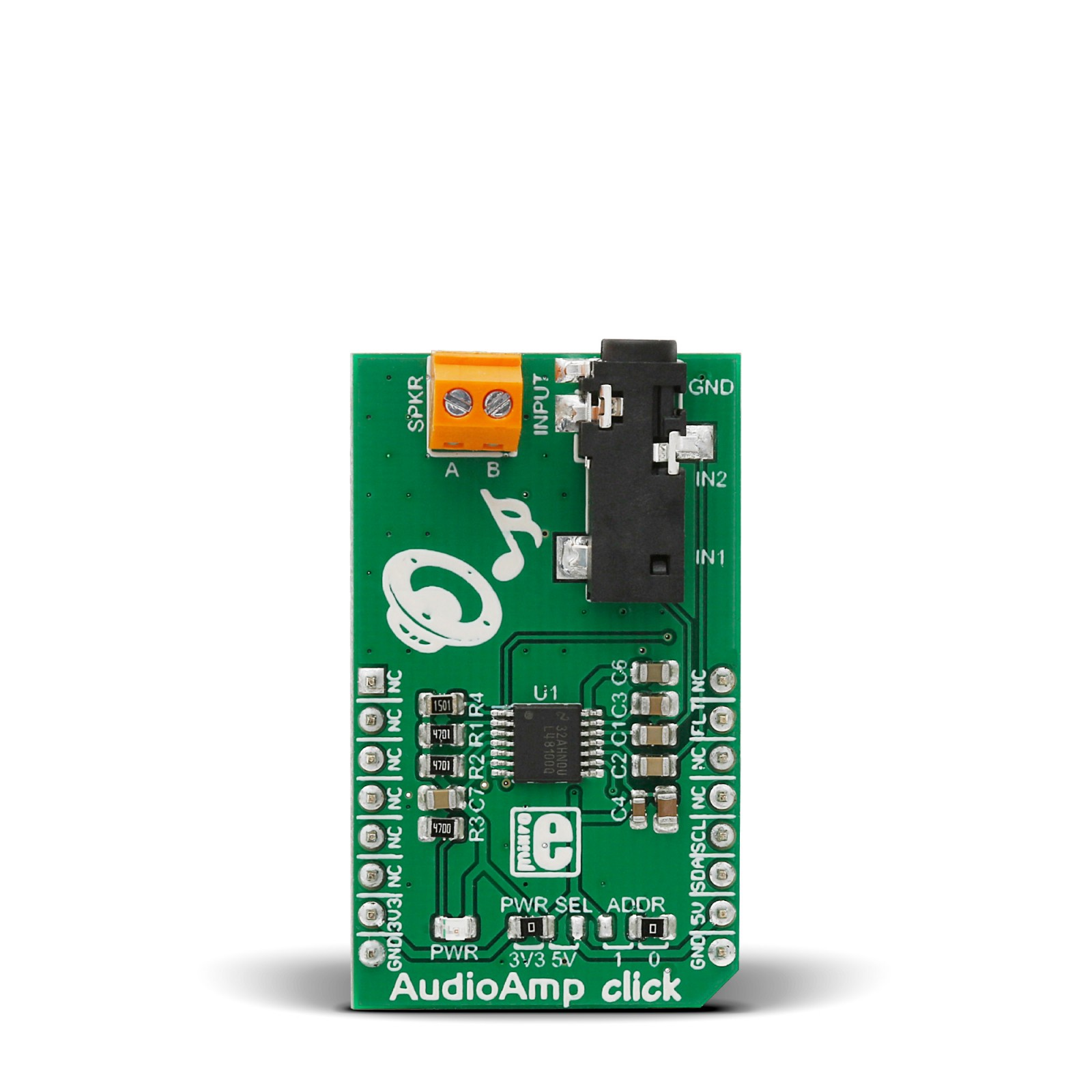 Buy Audio Amplifier Circuit Boardaudio Audioamp Click Board With Lm48100q Q1 Mgctlbxnmzp Mgctlbxv5112 Mgctlbxlc Mgctlbxpprestashop