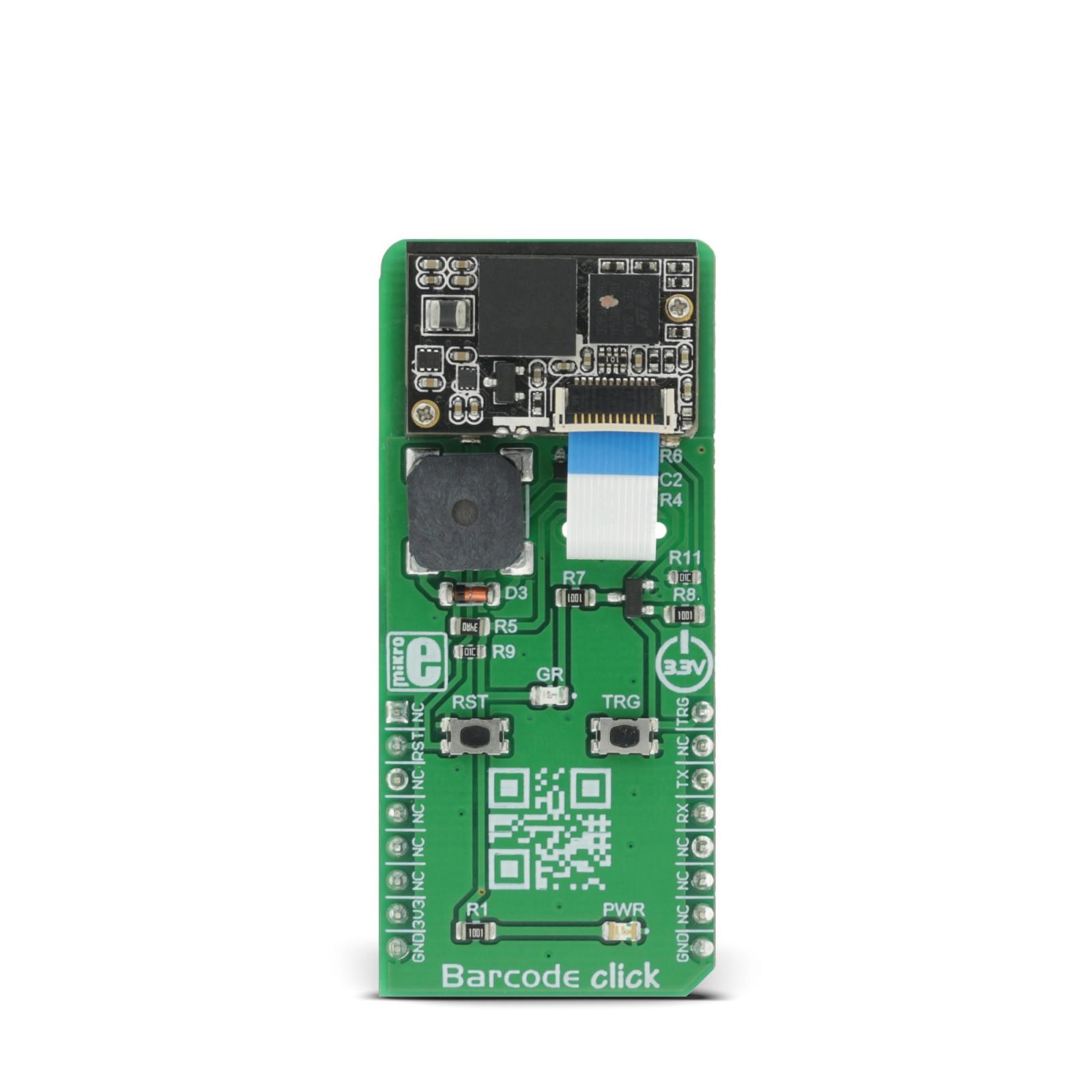 Barcode click | MikroElektronika