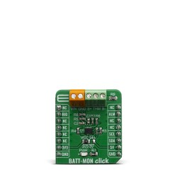 Shop Click Boards Power Management BATT-MON Click Front