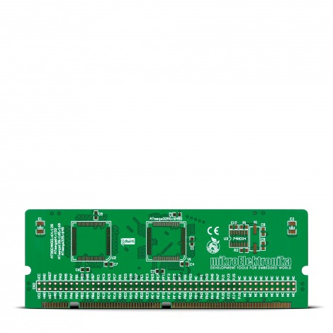 BIGAVR6 64-100-pin TQFP 1 MCU Card Empty PCB