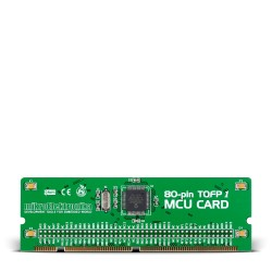 BIGdsPIC6 80-pin MCU Card with dsPIC30F6014A