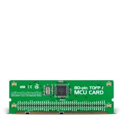 BIGdsPIC6 80-pin MCU Card with dsPIC30F6014A
