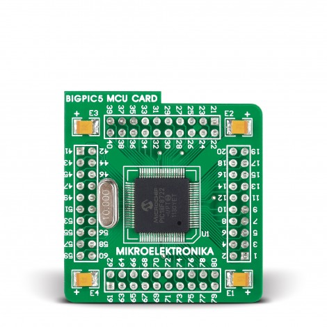 MikroElektronika MCU card with PIC18F8722 Microcontroller