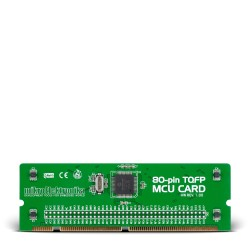 BIGPIC6 80-pin TQFP MCU Card with PIC18F8722 Microcontroller