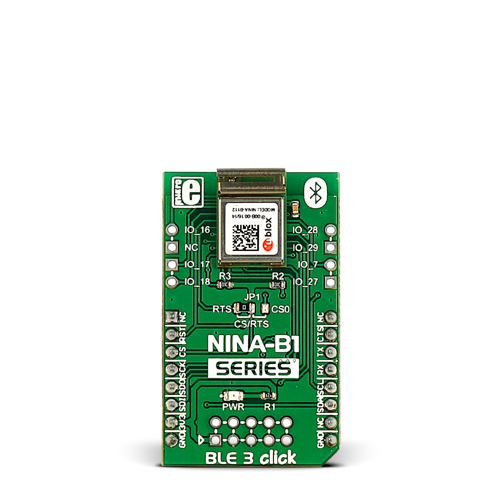 ble 3 click \u2014 board with nina b1 bluetooth 4 2 module module arduino bluetooth pi 3 click shield mikroelektronika