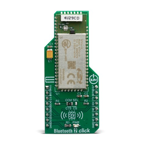 Click Boards Wireless Connectivity BT/BLE Bluetooth 2 click front