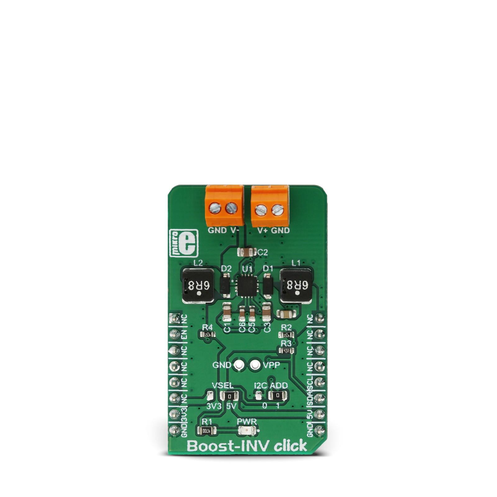 Boost Inv Click Mikroelektronika Here Is An Example Positive To Negative Converter Circuit It Will Mgctlbxnmzp Mgctlbxv5112 Mgctlbxlc Mgctlbxpprestashop