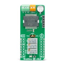 Shop Click Boards Motor Control Brushless Brushless 12 Click Front