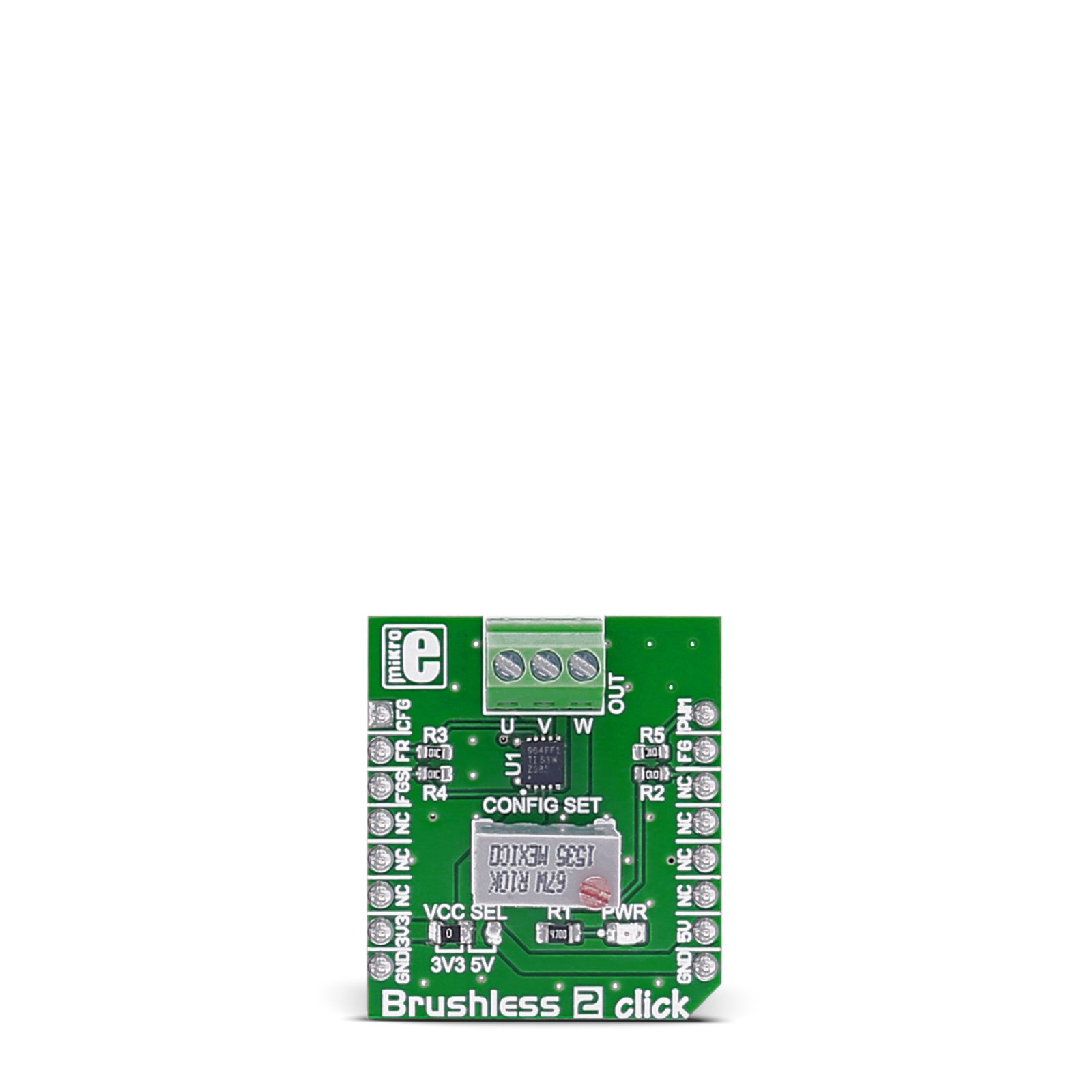 Brushless 2 Click Board With Drv10964 Bldc Motor Controller