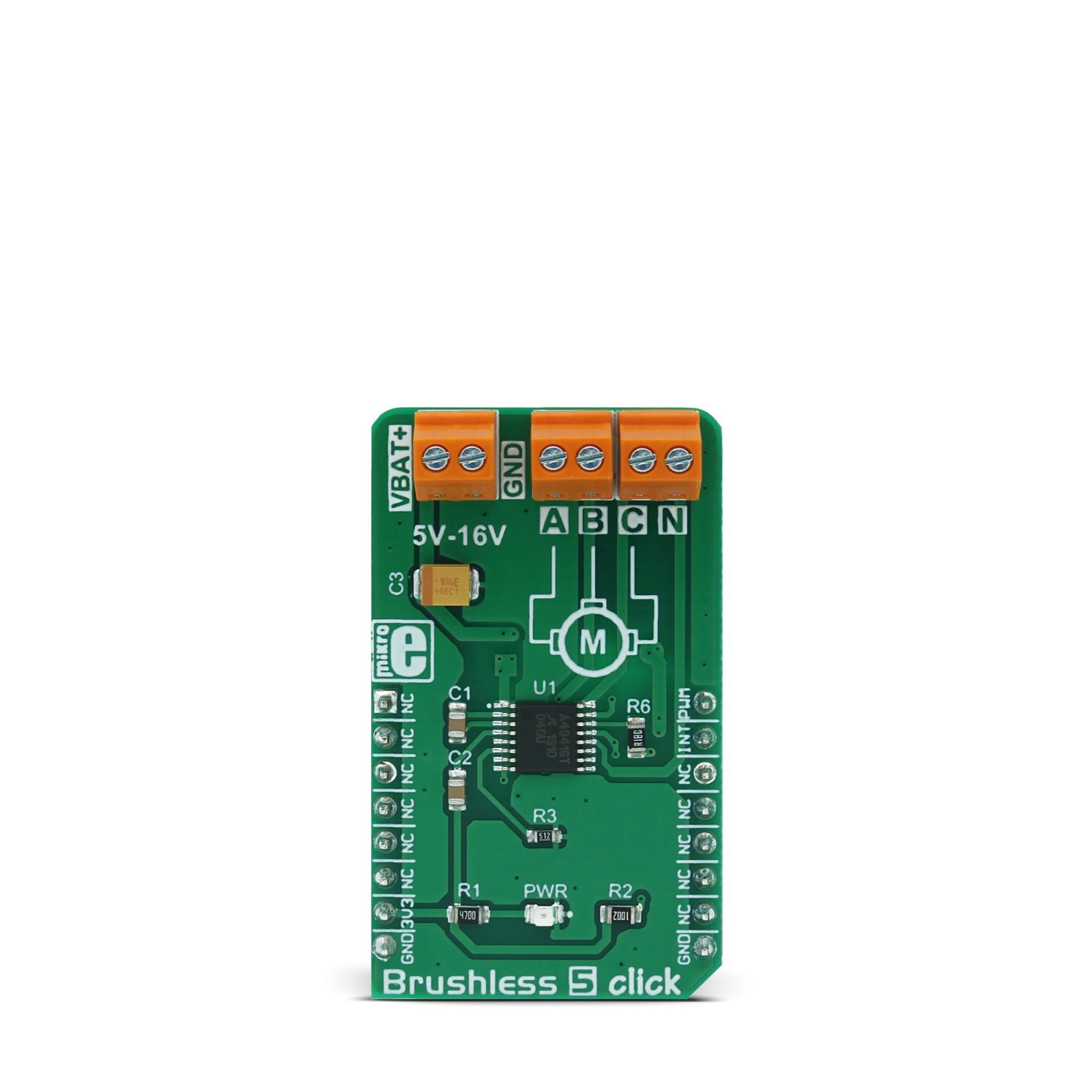 Brushless 5 click | MikroElektronika