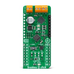 Shop Click Boards Motor Control Brushless Brushless 8 Click Front