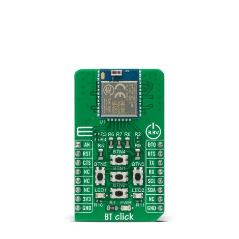 Shop Click Boards Wireless Connectivity BT/BLE BT Click Front