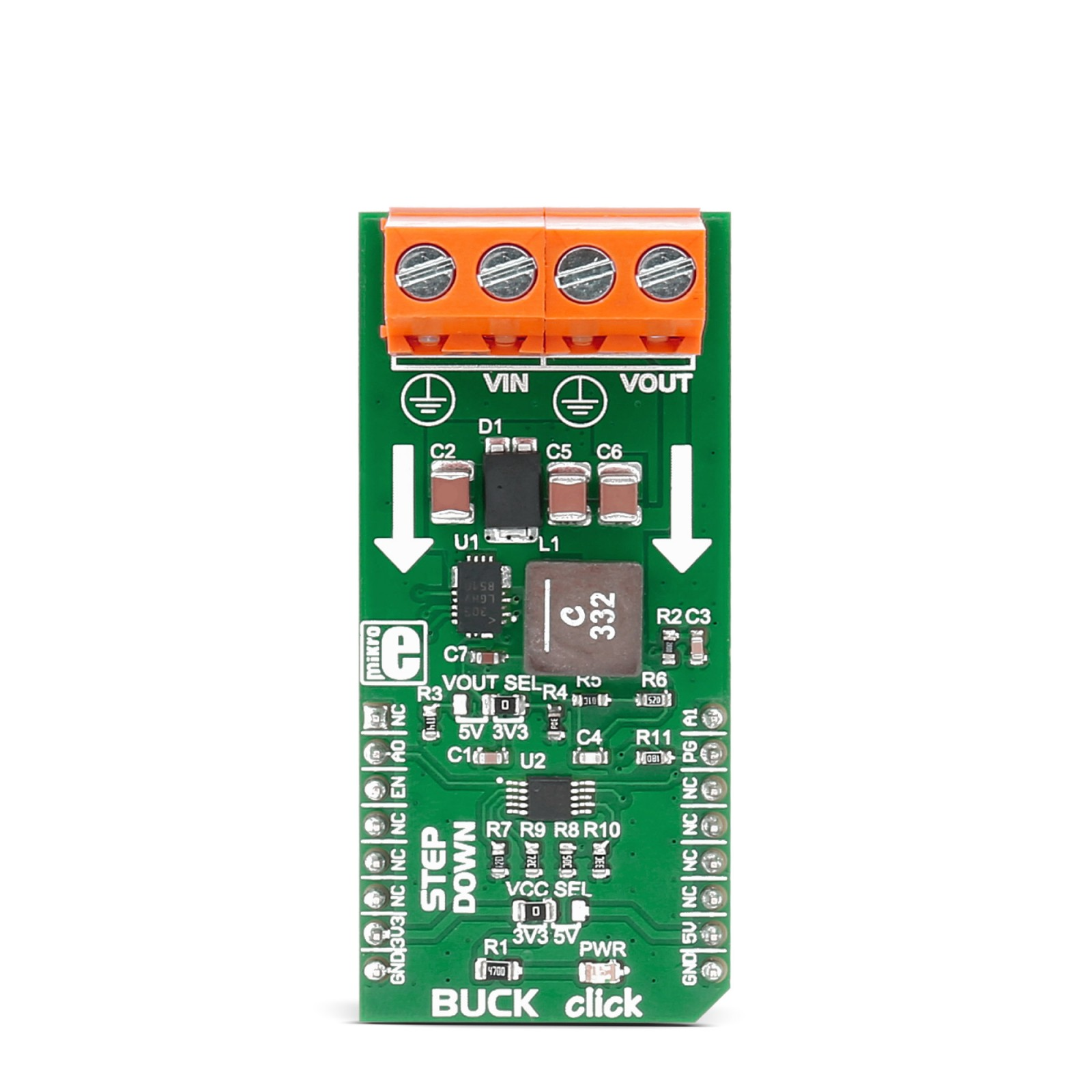 Buck Click Switching Regulator Mikroelektronika Wide Input Range Analog Mux Mgctlbxnmzp Mgctlbxv5112 Mgctlbxlc Mgctlbxpprestashop
