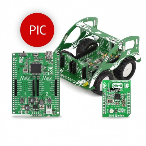 Mikroe Development Boards Buggy for PIC bundle
