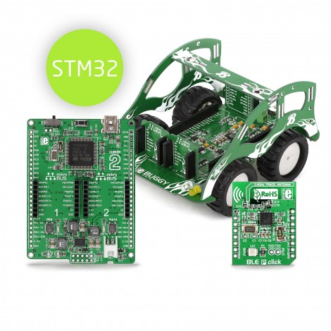 Mikroe Buggy for STM32 bundle
