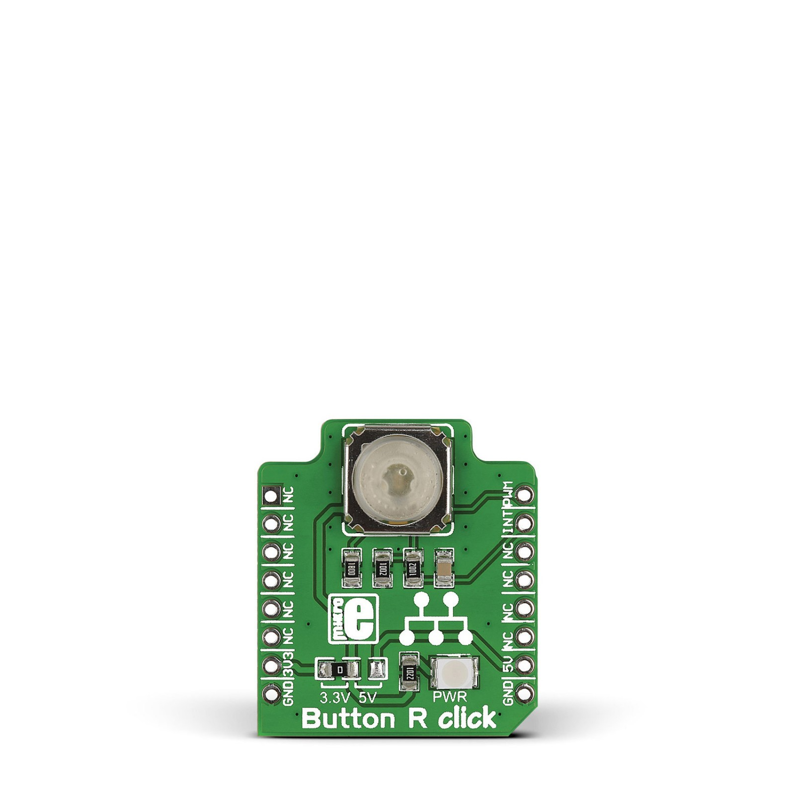 Button R Click Board With Single Pushbutton Red Led Backlight Using Push Switch Pic Microcontroller Mikroc Mgctlbxnmzp Mgctlbxv5112 Mgctlbxlc Mgctlbxpprestashop