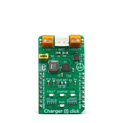 Mikroe Power Management Charger 8 Click front