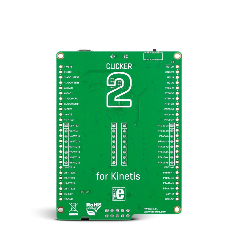 Clicker 2 for Kinetis