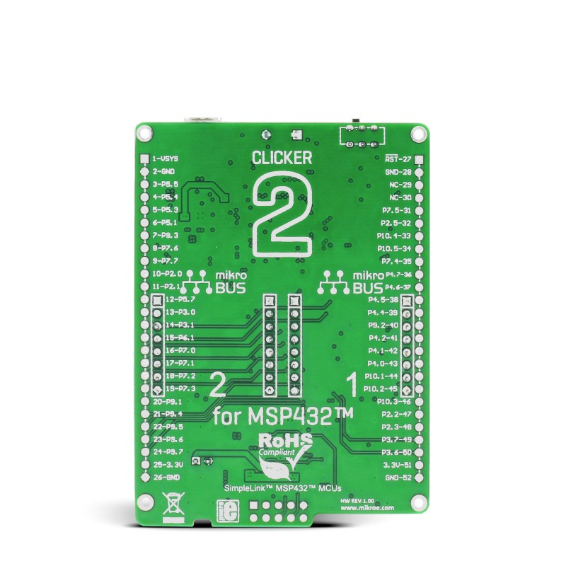 Clicker 2 for MSP432