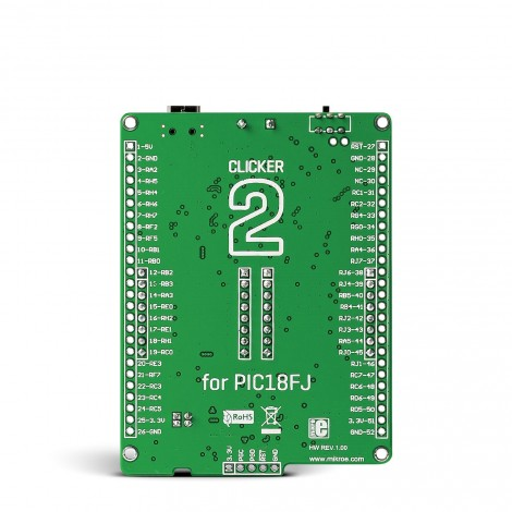 Clicker 2 for PIC18FJ